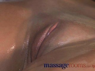 Massage Rooms Black Haired Teen Has Her Young Hole Stretched By Big Cock