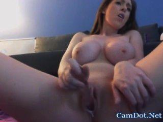 Camgirl Sexy Ass Masturbates And Orgsm Live Show