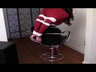 Redhead On A Stool