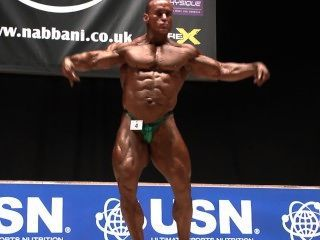 Musclebull Mark #4: (aus), Nabba Worlds 2014 - Masters Winner