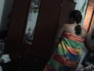 Hot Latin Girl Caught In Shower