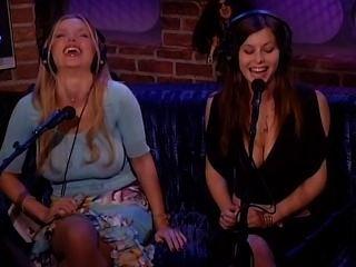 Ginger Jolie & Victoria Zdrok - Howard Stern Show 2005