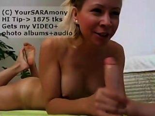 Yoursaramony Squirting Dildo Blowjob