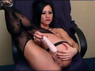 Cam Whore Toyed Her Ass Hole