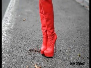 Julie Skyhigh Redboots