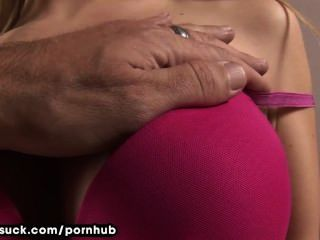 Teenage Girl On Her Knees Sucking Cock