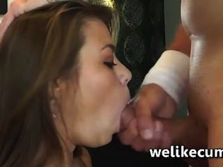 Bonnie Shai Tries To Deepthroat A Monster Cock