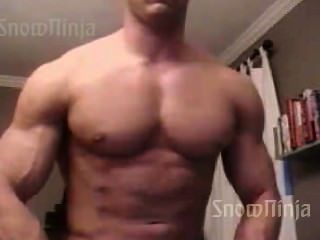 Bodybuilder Brett Mycles Webcam Posing Compilation #1