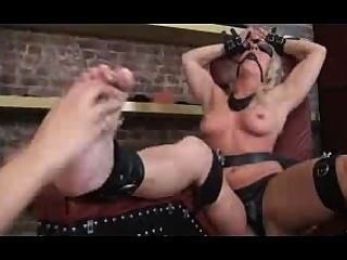 Candi Gagged, Tickled And Vibed
