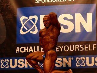 Musclebull Barny Duplessis - Class 3 - Nabba Universe 2014