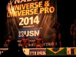 Musclebulls Nabba Universe 2014 - Men 1 Awards