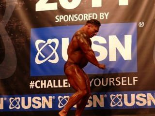 Roidgutted Musclebull Jordan Peters - Class 3 - Nabba Universe 2014