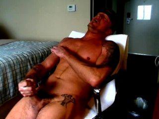 Hot J/o Session, Big Cock, Precum, Armpits, Big Load