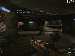 Call Of Duty Advanced Warfare Gameplay (funny Lag)