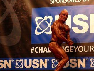 Muscledad Bernie Cooper - Masters Over 50 - Nabba Universe 2014