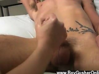 Gay Guys He Was Pretty Laid Back When Mr. Hand Showed Up Nervous And A