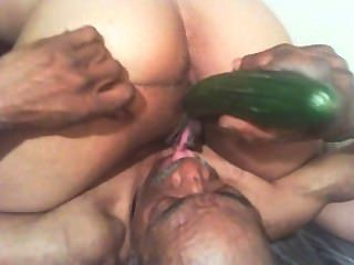 Oral + Cucumbered Till I Cum + Scream + Moan
