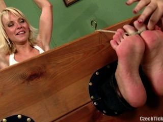Czech Tickled Feet - Jana Cova