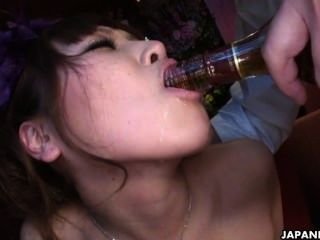 Two Smoking Hot Japanese Girls Enjoy A Wild Raunchy Threesome