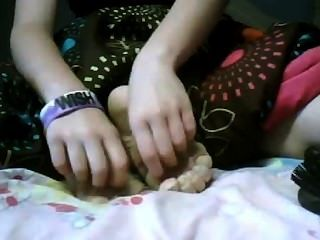 Ticklish Girl Feet 1