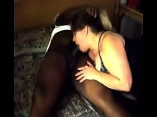 Milf Sucks Bbc While Husband Films