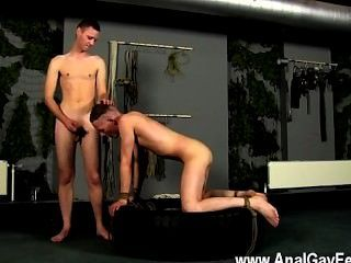 Gay Orgy Aiden Cannot Stand Against The Seductive View Of Naked Captive