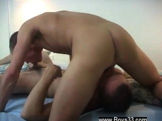 Gay Cock Jimmy Was So Turned On By Getting Banged That He Shoved His