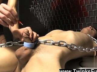 Gay Cock Roxy Red Wakes Up Bound To A Table And Ryan Conners Takes His