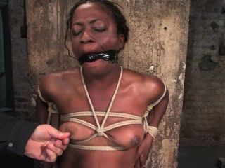 Monique Tied To A Chair And Vibed