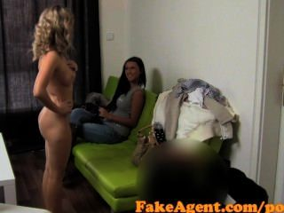 Fakeagent Two Smoking Hot Amateurs Fucked Hard In Casting Interview