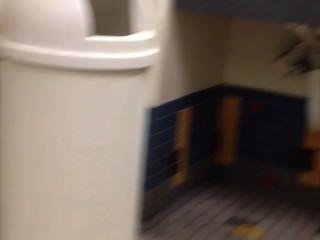 Spying Locker Room