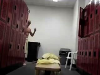 Hunter In The Locker Room