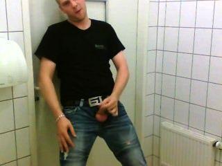 Man Jerk Off In Public Toilet