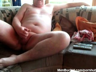 An Older Guy Getting Horny And Playful