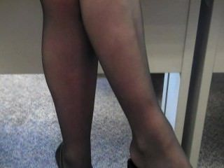 Office Footjob Ignore