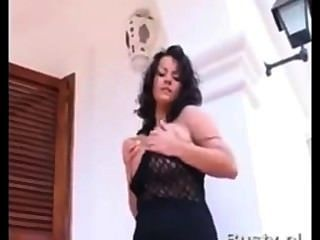 Bea Flora Dances And Plays With Her Self