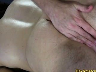 Straight Amateur Bloke Ass Fingered