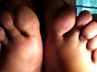 Pretty Ebony Bbw Toes