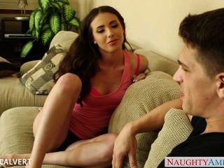 Young Babe Casey Calvert Fuck On The Couch