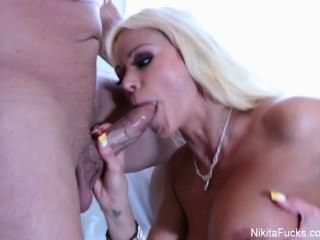 Nikita Von James Gets Fucked Hard
