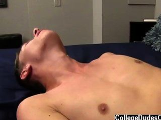 Naked Men Kellen Can Barely Contain Himself As Sergio Works His Magic,