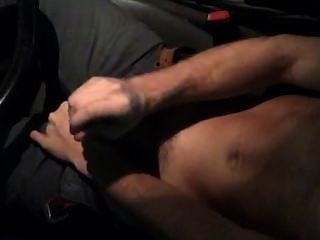 Wanking In The Car