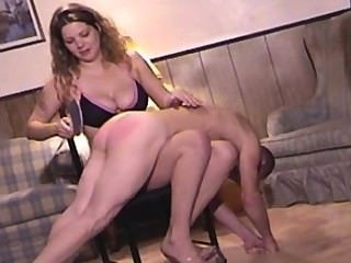 Spanked By Tall Woman