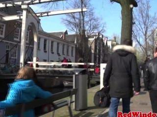 Punky Dutch Prostitute Fucking A Tourist