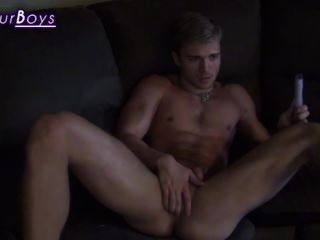 Jaden Storm Jerking At Voyeurboys