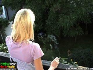 Katya Smoking