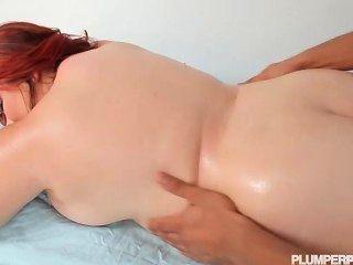 Busty Redhead Teen Bbw Harley Ann Fucked By Big Black Cock