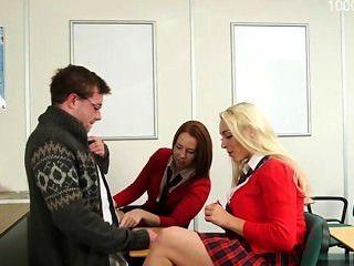Busty Girlfriend Cum On Pussy