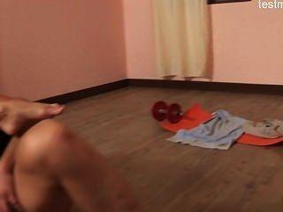 Hot Housewife Brutal Gangbang