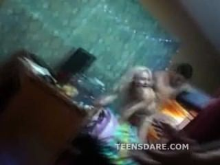 Petite Bleach Blonde Teen Sluts Fucked